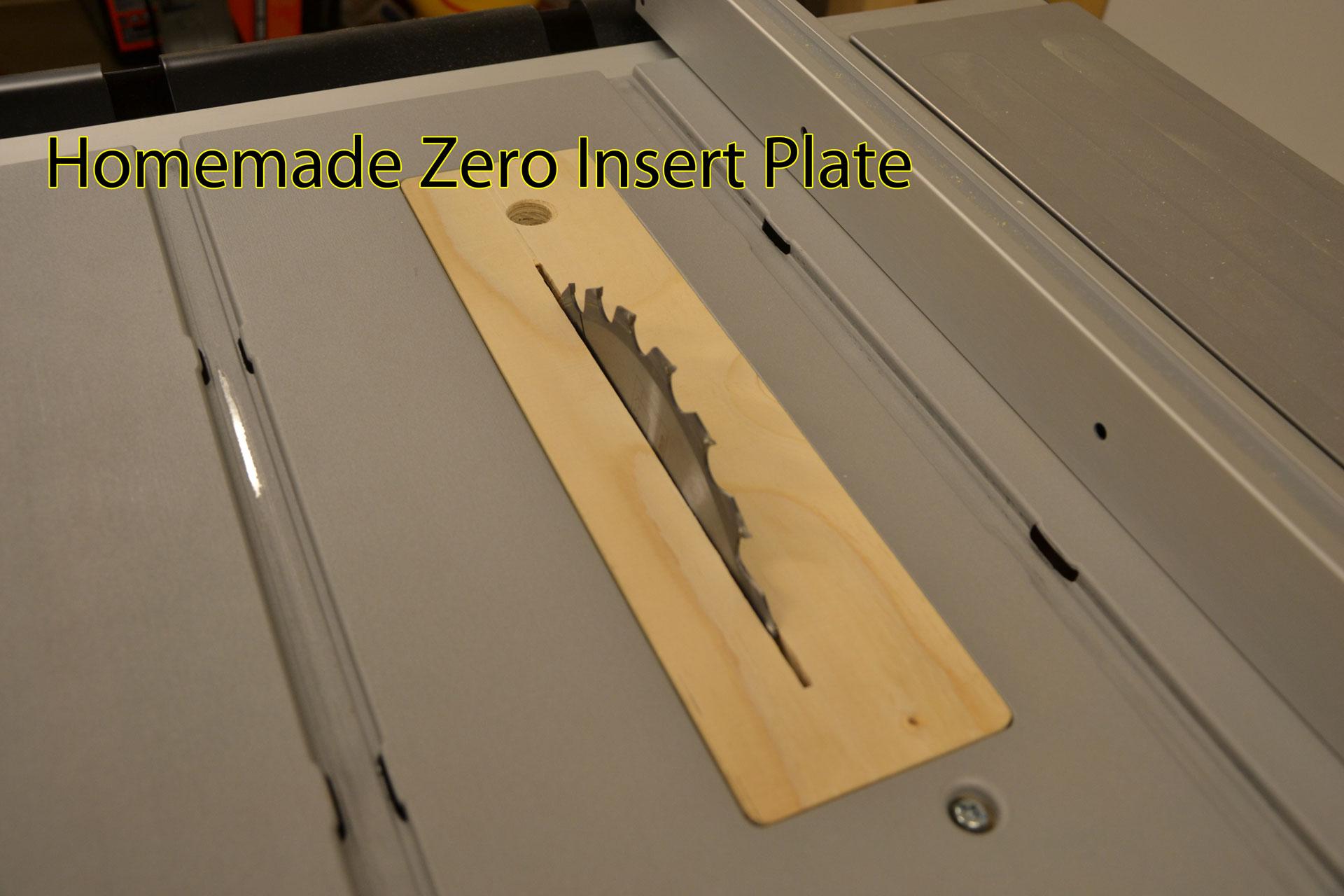 Zero insert